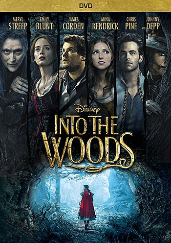 Disney%27s Into the Woods the Movie Musical DVD
