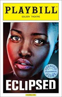 Eclipsed Limited Edition Official Opening Night Playbill