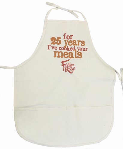 Fiddler On The Roof Official Broadway Show Apron