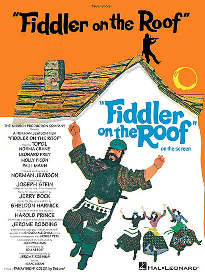 Fiddler On The Roof Vocal Score Broadway Books Piano