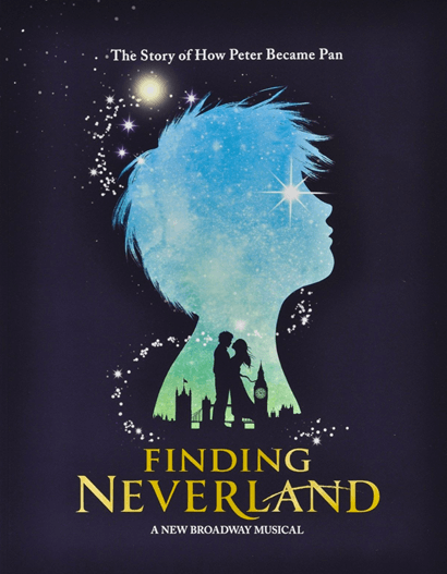 Finding Neverland The Broadway Musical Souvenir Program