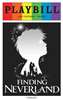 Finding Neverland the Musical - June 2015 Playbill with Rainbow Pride Logo