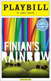 Finians Rainbow Limited Edition Official Opening Night Playbill