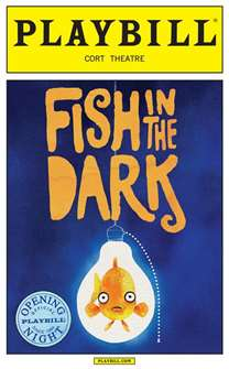 Fish in the Dark Limited Edition Official Opening Night Playbill