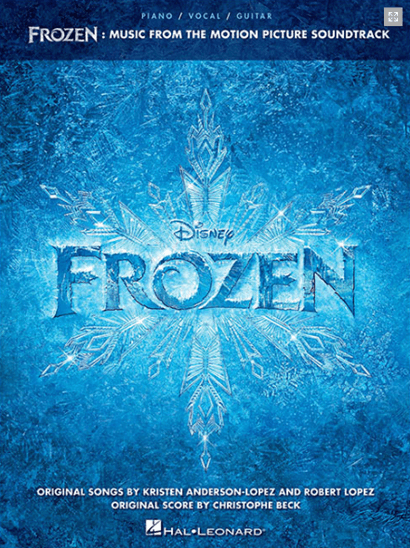 Frozen: Piano/Vocal Songbook featuring Selections from the Motion Picture