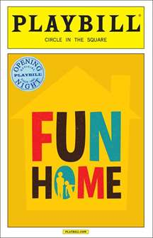 Fun Home Limited Edition Official Opening Night Playbill