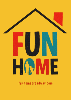 Fun Home the Broadway Musical - Logo Magnet