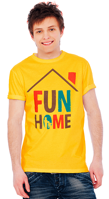 Fun Home the Broadway Musical - Poster Art T-Shirt
