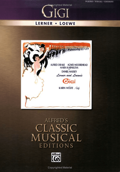 Gigi Piano/Vocal Selections Songbook