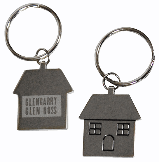 Glengarry Glen Ross the Broadway Play - Logo House Keychain
