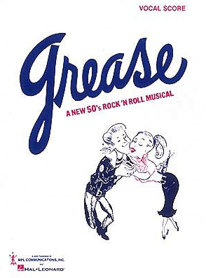 Grease Piano Vocal Score