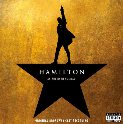 Hamilton Original Broadway Cast Recording - 2 disc CD