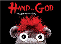 Hand to God the Broadway Play - Logo Magnet