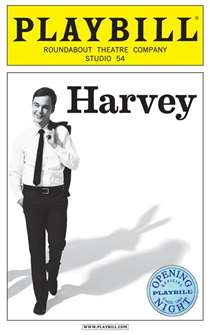 Harvey Official Limited Edition Opening Night Playbill