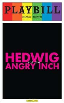 Hedwig and the Angry Inch - June 2015 Playbill with Rainbow Pride Logo