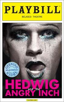 Hedwig and the Angry Inch starring Neil Patrick Harris - Limited Edition Official Opening Night Playbill