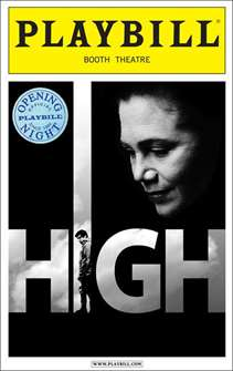 High Limited Edition Official Opening Night Playbill
