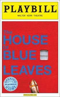 House of Blue Leaves Limited Edition Official Opening Night Playbill