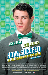 How To Succeed Broadway Poster (Nick Jonas)