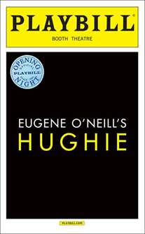 Hughie Limited Edition Official Opening Night Playbill