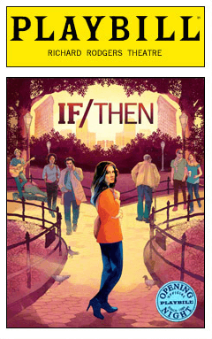If/Then starring Idina Menzel - Limited Edition Official Opening Night Playbill