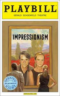 Impressionism Limited Edition Official Opening Night Playbill