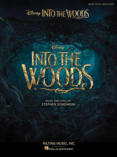 Into the Woods the Disney Movie - Piano/Vocal Selections Songbook
