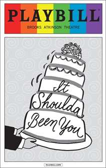 Itshoulda Been You - June 2015 Playbill with Rainbow Pride Logo