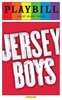 Jersey Boys - June 2015 Playbill with Rainbow Pride Logo
