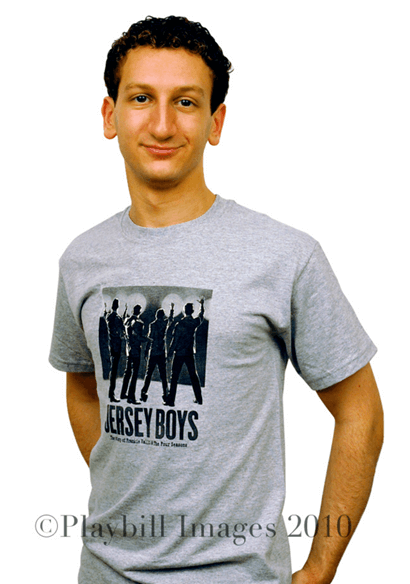 Jersey Boys the Broadway Musical - Grey T-Shirt with Four Seasons Image