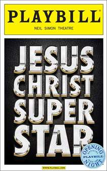Jesus Christ Superstar Limited Edition Official Opening Night Playbill