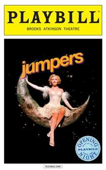 Jumpers Limited Edition Official Opening Night Playbill