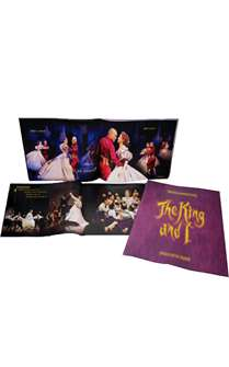 The King and I the Broadway Musical - Souvenir Program