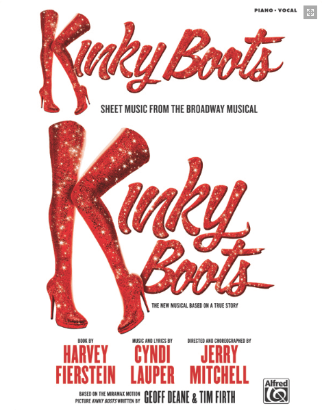 Kinky Boots Piano/Vocal Selections Songbook