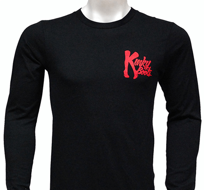 Kinky Boots the Broadway Musical -  Long Sleeve Logo T-Shirt