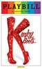 Kinky Boots the Musical- June 2015 Playbill with Rainbow Pride Logo
