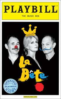 La Bete Limited Edition Official Opening Night Playbill