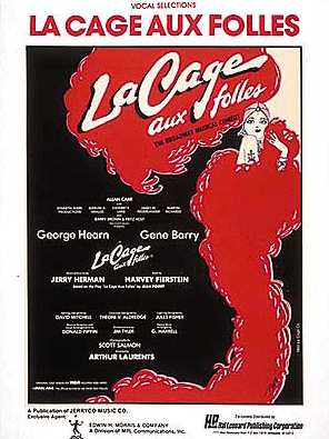 La Cage Aux Folles Piano/Vocal Selections Songbook