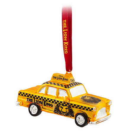 The Lion King The Broadway Musical - NYC Taxi Ornament