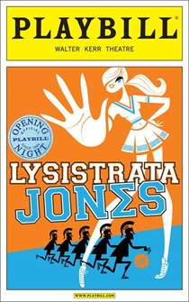 Lysistrata Jones Limited Edition Official Opening Night Playbill
