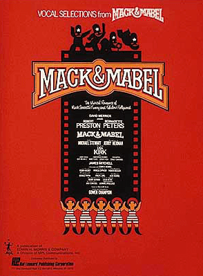 Mack and Mabel Piano/Vocal Selections Songbook