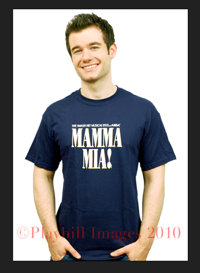 Mamma Mia! the Broadway Musical - Navy Logo T-Shirt