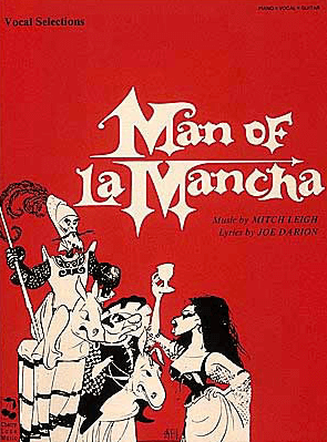 Man of LaMancha Piano/Vocal Selections Songbook