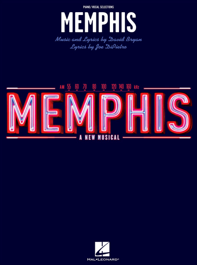 Memphis the Broadway Musical Piano/Vocal Selections Songbook