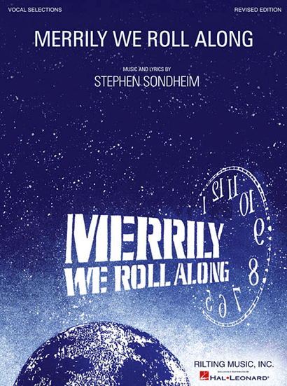 Merrily We Roll Along Revised Piano/Vocal Selections Songbook