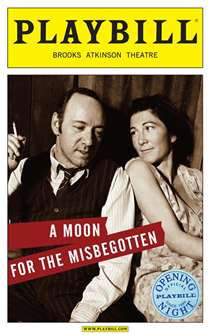Moon for the Misbegotten Limited Edition Official Opening Night Playbill