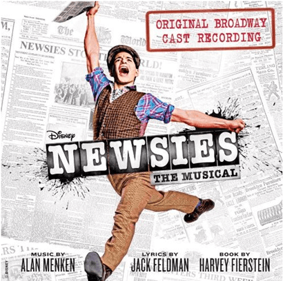 Newsies the Musical Original Broadway Cast Recording CD