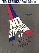 No Strings Piano/Vocal Selections Songbook