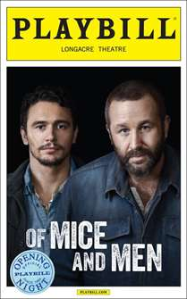 Of Mice and Men Limited Edition Official Opening Playbill