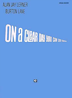 On A Clear Day Vocal Score